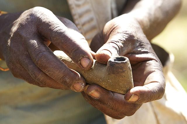 Stone Pipe.