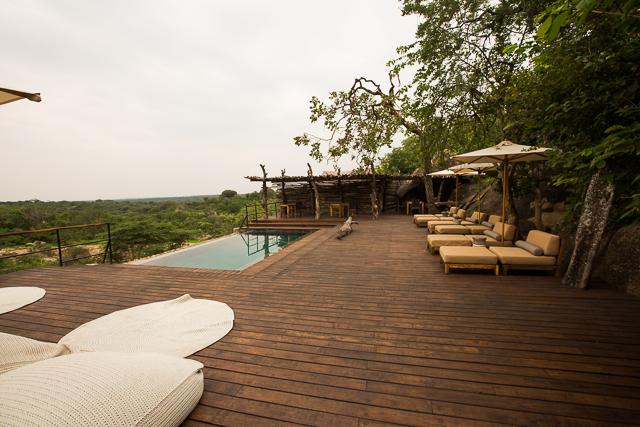 Mwiba Lodge pool