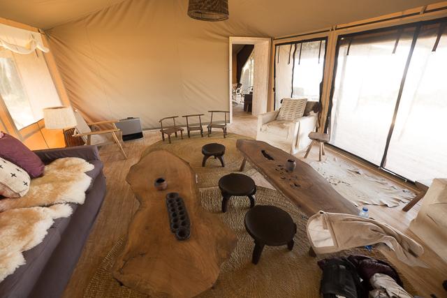 Entamanu Camp Lounge