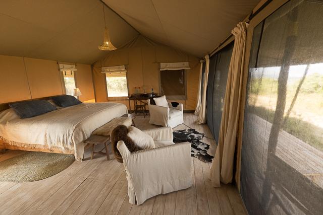 Entamanu Camp bedroom