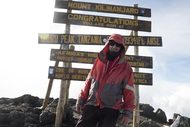 Justin Bell - climb organiser